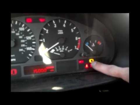 BMW Brake Pad Reset Procedure, Brake Warning Light Reset Procedure ...