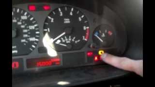 BMW Brake Pad Reset Procedure, Brake Warning Light Reset Procedure, BMW E46, E38, E39, E53