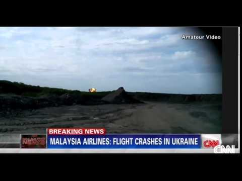Malaysia Airlines Flight MH 17 Plane Crash Video