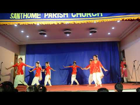 Santhome Church Feast 2018( Kid's Dance)