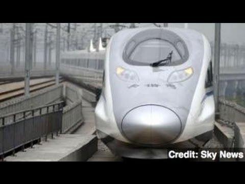 China Unveils World's Longest Bullet Train Line