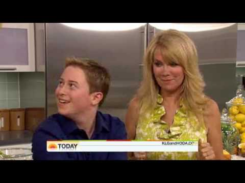 Reed Alexander of 'iCarly' NBC's Today  Kathie Lee and Hoda ting KewlBites