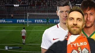 FIFA 18 I KARNE CHALLENGE - POLSKA VS BRAZYLIA ( LEWY vs NEYMAR ) UNBOXING SASZETEK