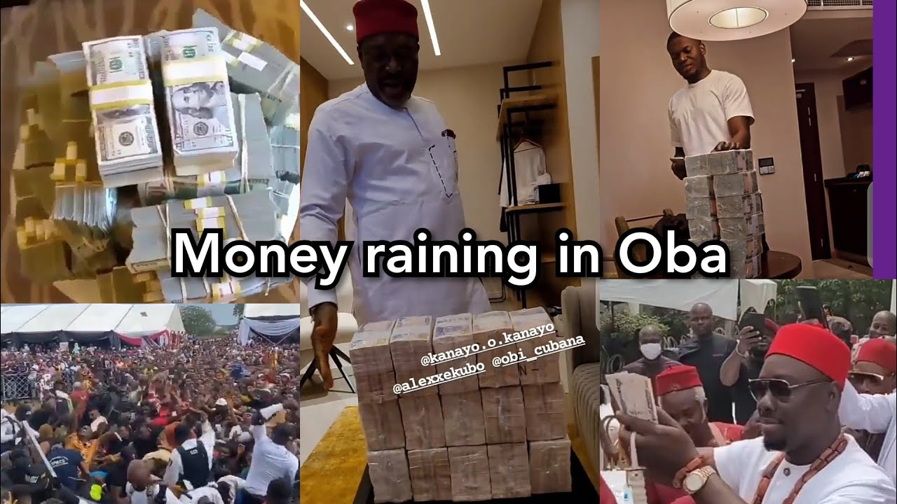 Download Money Rains in Oba as Obi Cubana,E money,Jowi Zaza & Igbo billionaires shutdown Anambra state (full)