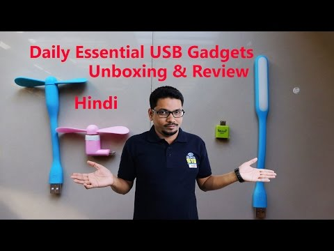Hindi || Daily Essential USB Gadgets Unboxing & Review