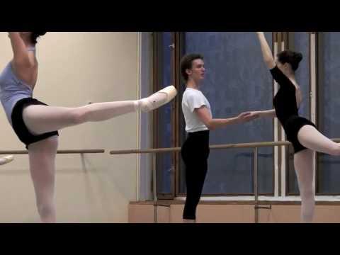 Partnering class in Bolshoi Ballet Academy (MOSCOW)