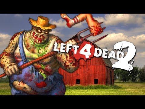 DOWN ON THE FARM - ZOMBIE SURVIVAL (Left 4 Dead 2 Zombies)