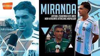 ⚽ MIRANDA / LATERAL ESQUERDO - MEIA ATACANTE / Gabriel Miranda Passos