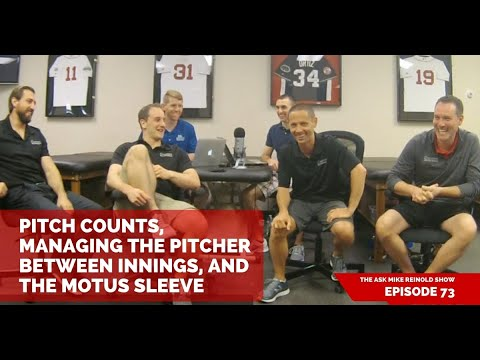 Pitch Counts, Managing the Pitcher Between Innings, and the Motus Sleeve