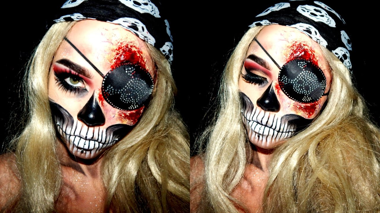 Pirate Wench Halloween Makeup | SFX