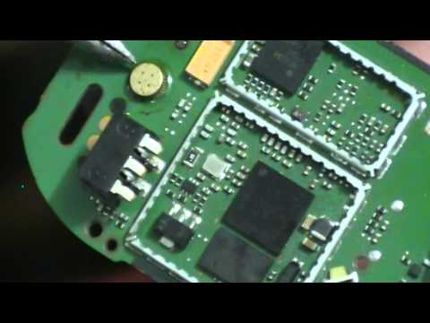 Nokia 1616 замена микрофона