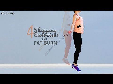 4 Skipping Exercises To Lose Weight Fast | Jump Rope Exercises With Urmi Kothari