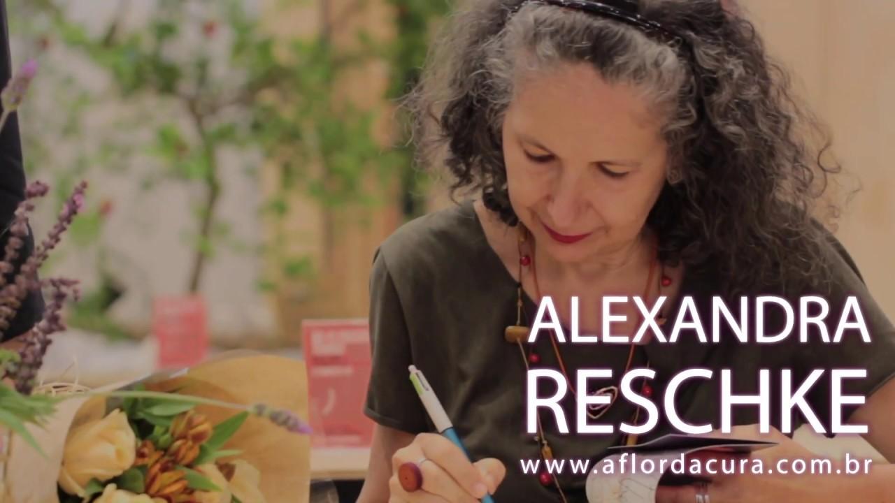 A flor da cura - Alexandra Reschke Lançamento