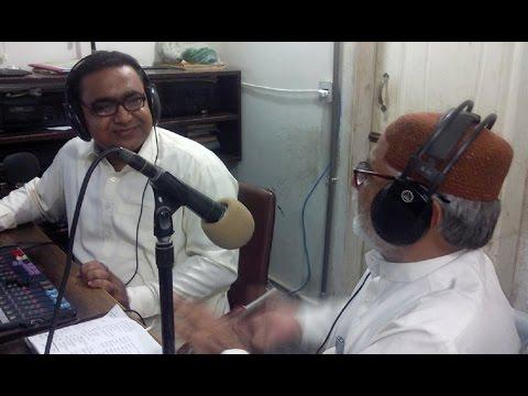 Ahmed Ali Sabir Chandio,Poet,Story Writer,Stage Play Writer Of Sindh @ Hot FM 105 Larkana
