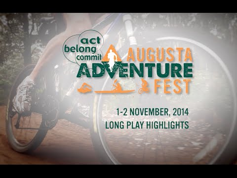 2014 Act Belong Commit Augusta Adventure Race - Long Play Highlights