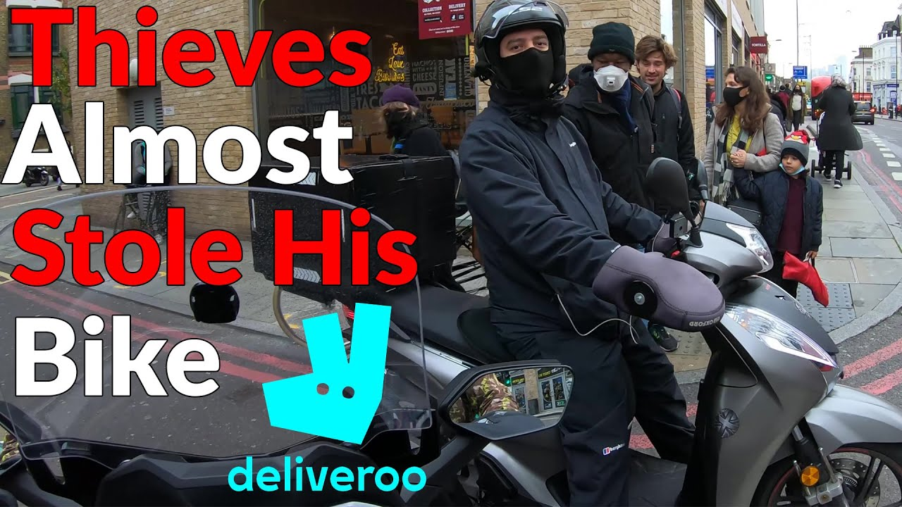 Brand New Honda SH 300 Almost Got Stolen | Working For Deliveroo