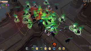 RE vs ALONE ZVZ Albion Online part 1