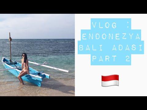 Endonezya Gezisi - Bali Adası Part 2 (Gili Air, Balangan, Jimbaran, Uluwatu) | Bali Diaries | VLOG