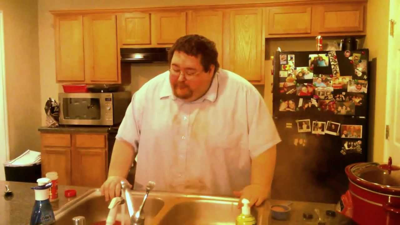 Boogie2988 Really Fat Guy Takes The Cinnamon Challenge