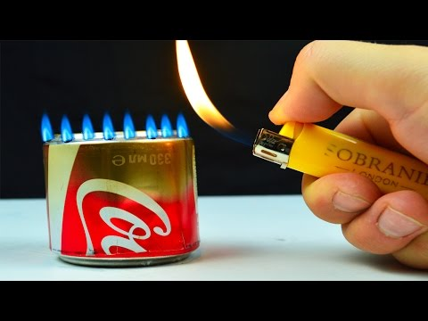 Thumbnail: How to Make an Alcohol Burner out of the bottle with Coke