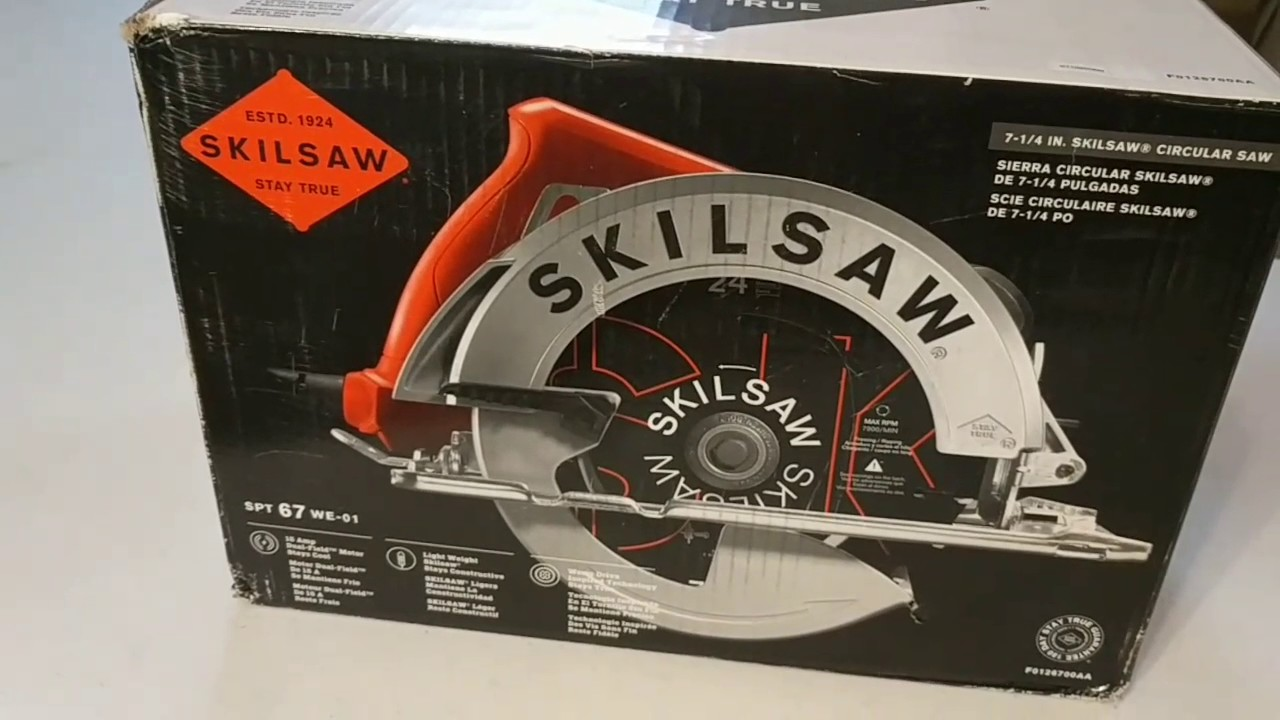Skilsaw Spt67wl 0 Unboxing And Review Youtube