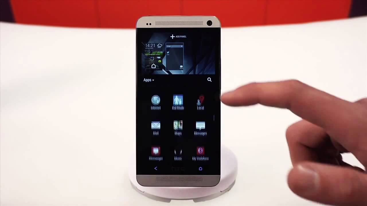 Vodacom Self Service | How to add apps and widgets to the HTC One Android  homescreen