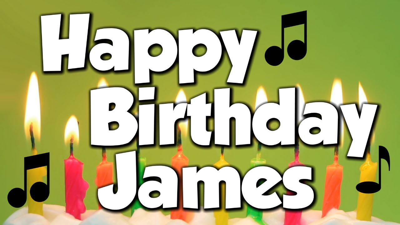 Image result for happy birthday james