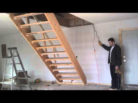Hide Away Electric Drop Down Stairs Doovi