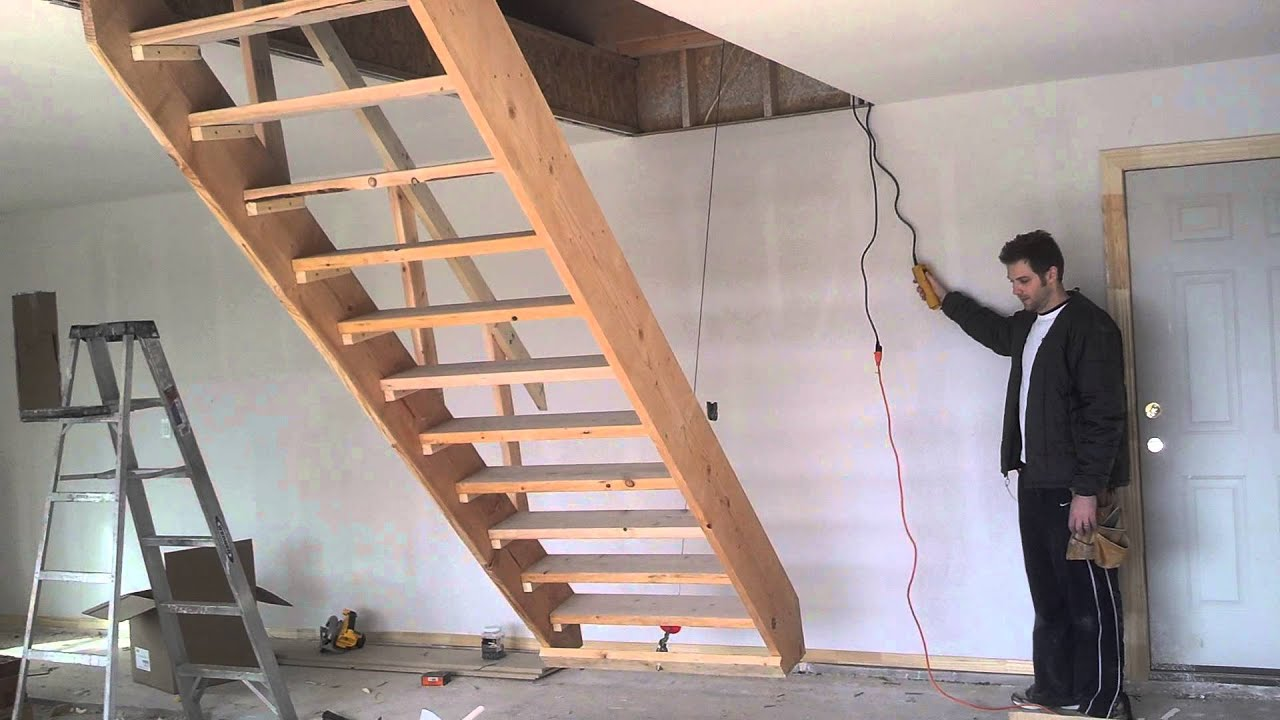 Good Retractable Stairs   YouTube