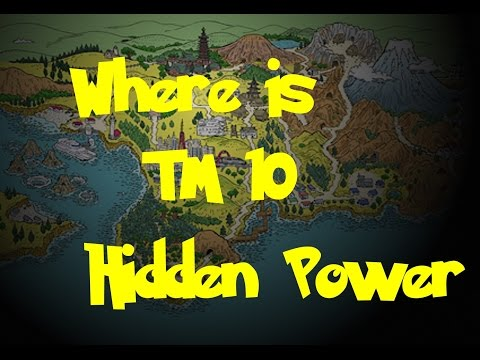 Where Is: TM 10 - Hidden Power (Pokemon Gold/Silver/Crystal)