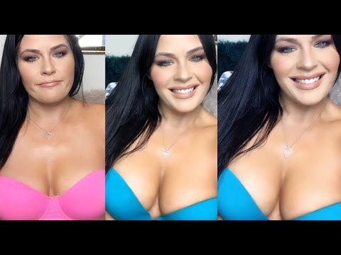 UPBRA SWIMSUIT  TRY ON! CURVY BODY TRANSFORMATION WITHOUT SURGERY!!