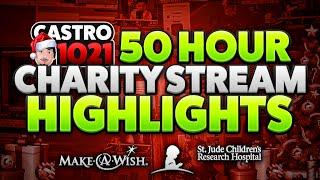 50 hour charity stream highlights 76k raised 4dakidz