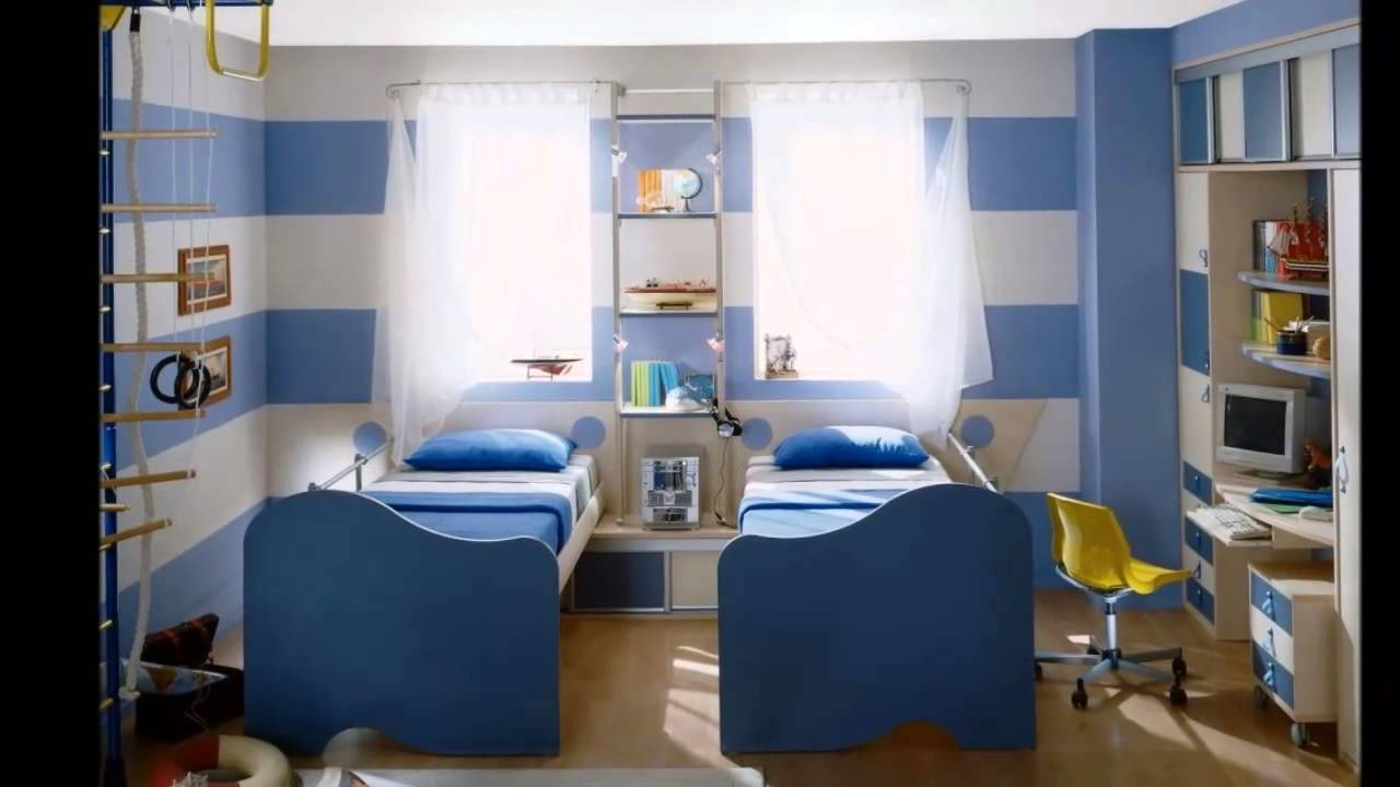 Baby jongens kamer - YouTube