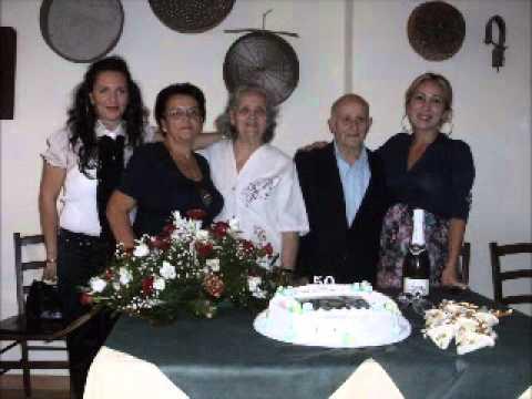 Youtube 50 Anniversario Di Matrimonio.Saverio Parlongo E Zenofonte Maria Consolata 50 Anni Di Matrimonio Una Vita Wmv