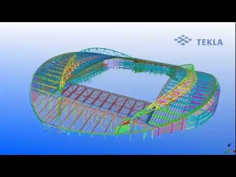 Tekla UK Model Comp 2011 Entry: Brighton Community Stadium