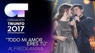 Смотреть клип Alfred Y Amaia - Todo Mi Amor Eres Tú