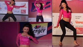 मिस नेपाल २०१६ का प्रतिस्पर्धी वर्षा लेखीको नृत्य