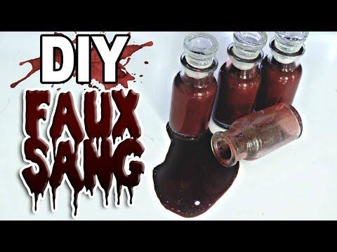 Fabriquer du faux sang diy youtube - Fabriquer du faux sang ...