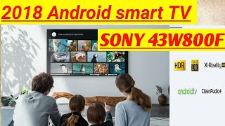 Sony 43W800F FHD Smart TV (Android TV)