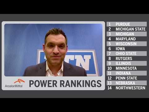 B1G Basketball Power Rankings: Purdue Takes Top Spot from Michigan State | Feb. 26, 2019