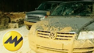 Land Rover Discovery vs. Volkswagen Touareg | Motorvision