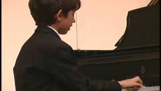 Ben Gottesman Piano - Sicilienne - Schumann