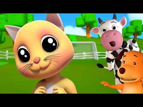 киска кошка | песни кота | детские стишки | Pussy Cat
