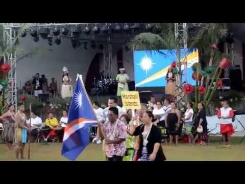 Гуамская Ярмарка 2015, Делегация Респу́блики Марша́лловы Острова́