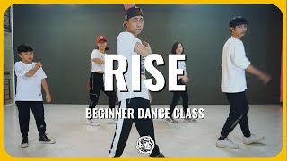 Rise (Jonas Blue ft. Jack&Jack) / KhaKen Choreography / Urban Dance Class (beginner)
