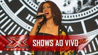 Heloá faz o tempo parar com Cazuza | X Factor BR