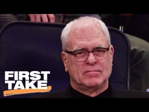 Stephen A. Smith's Rant On Phil Jackson | First Take | April 17, 2017
