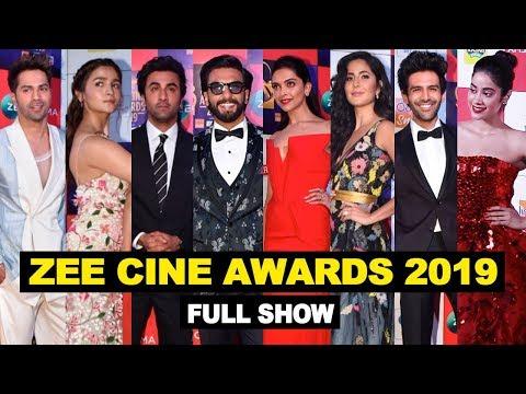Zee Cine Awards 2019 Full Show Red Carpet | Ranveer, Ranbir,Alia,Deepika,KatrinaJanhvi,Varun