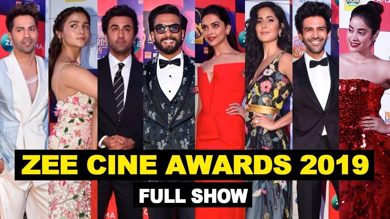 Zee Cine Awards 2019 Full Show Red Carpet | Ranveer, Ranbir