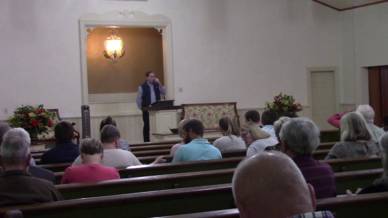 4th Street Church of Christ Worship 10/25/20 with Kyle Butt of Apologetics Press